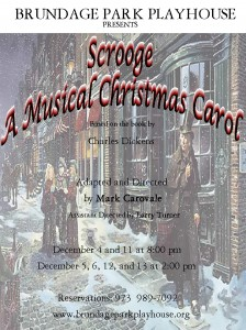 Scrooge program cover