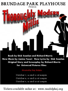 Thorouhgly Modern Millie Program Cover